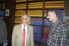 Mit Prof. Fuat Sezgin