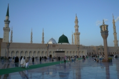 Die Moschee des Propheten in Medina