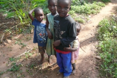 Kinder in Tansania